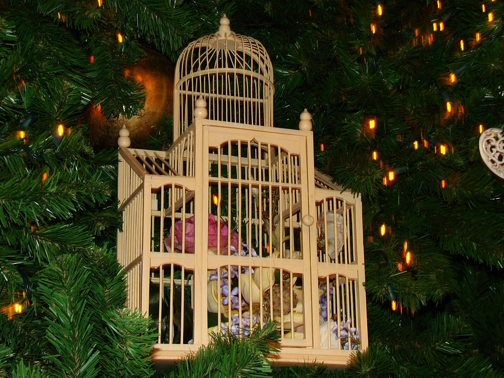 Birdcage Decoration Christmas Tree Grand Floridian Resor Flickr