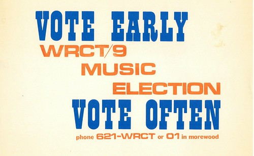 Vote Earlu: Vote Often | by wrct883