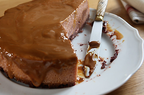 chocolate cake with salty dulce de leche hazelnut brittle 4 9 ...
