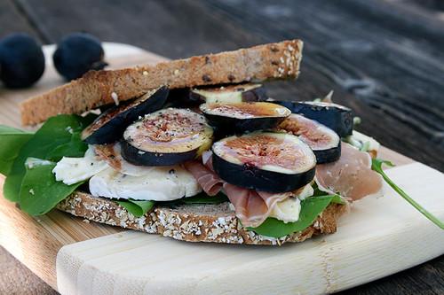 Prosciutto Arugula Sandwich And Arugula Sandwich | by