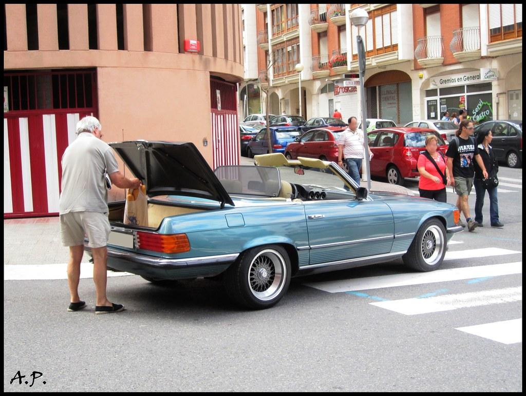 MercedesBenz 280 SL [R107]  Seen in Castro Urdiales