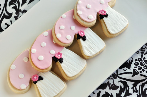 Pink Woodland Sugar Cookies | by Sweetapolita