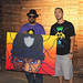 Ice Cube with his TTW Painting