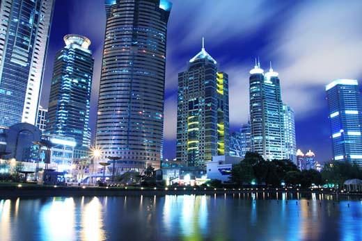 beautiful office buildings. SHANGHAI Lujiazui Office Building Of The Beautiful City Night | By  Zhengsheng Buildings