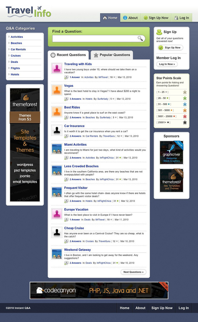 Wordpress Theme for Question And answer blog - Useful ...