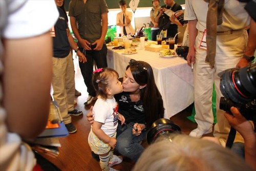 A Danica kiss | by IndyCar Series