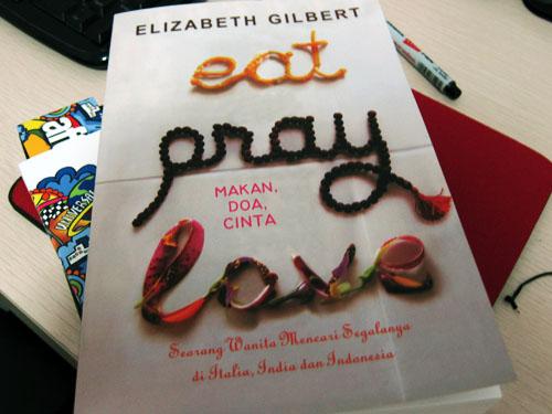 Image result for eat pray love