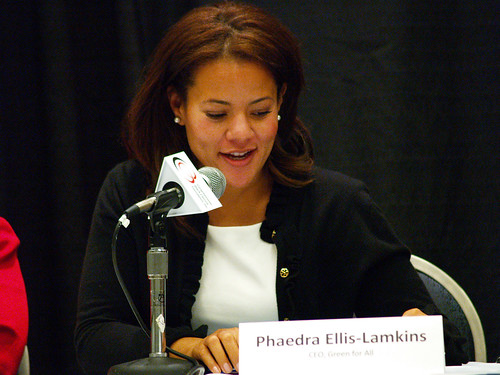 Phaedra Ellis, Executive Director, Green for All | by National Black Justice Coalition