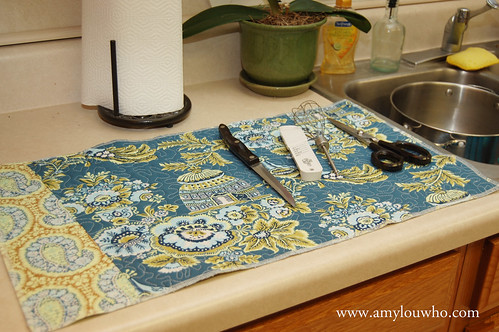 dishmat - side A | by amylouwhosews