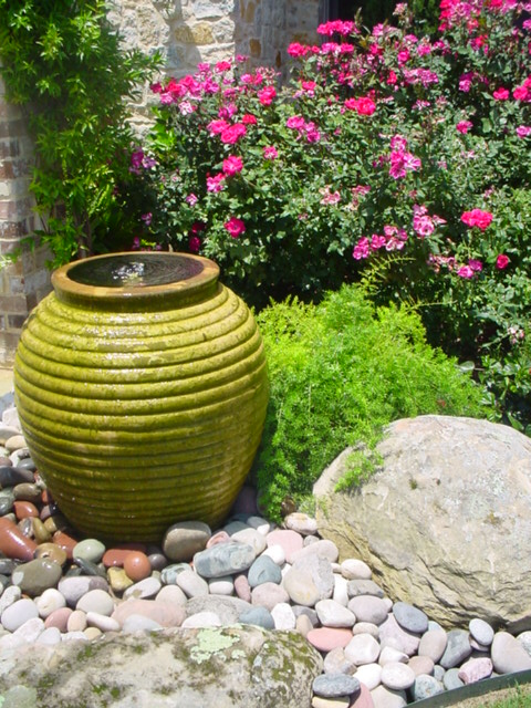 Pondless Water Feature Mckinney Texas Decorative Pots And Flickr