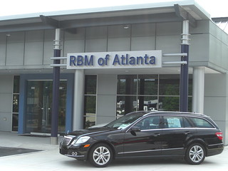 New entrance rbm of atlanta mercedes benz flickr for Rbm mercedes benz