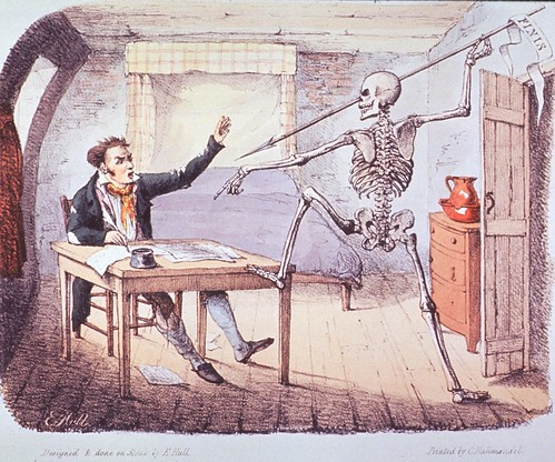 Death found an author writing his life | by National Library of Medicine - History of Medicine