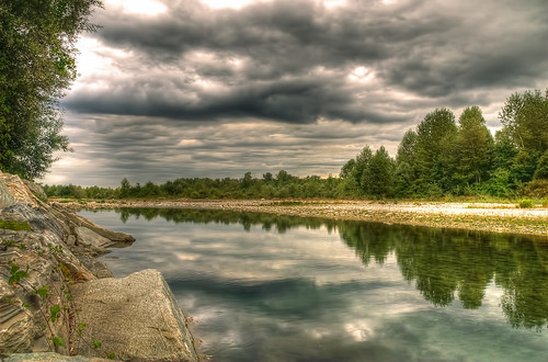 The river Stura - HDR - Cuneo | by www.gallettomarco.it