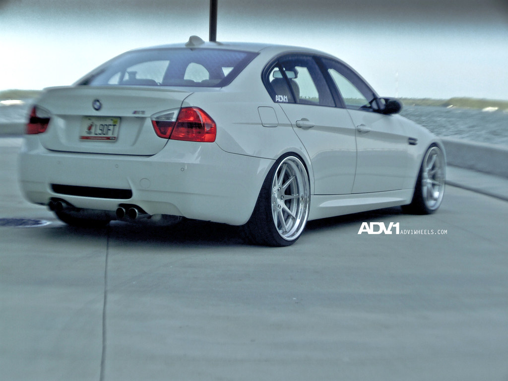 Bmw E90 M3 On The New Adv10 Track Spec Forged Wheels By Ad Flickr