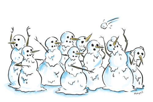 snowperson-attack | by cfrakes