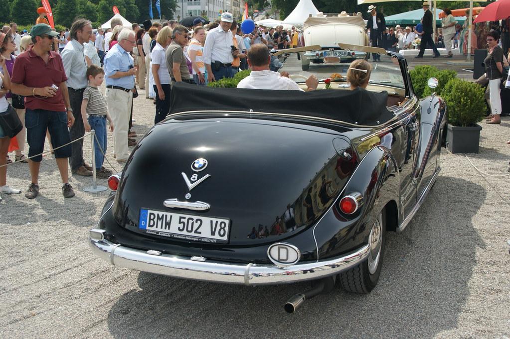 BMW 502 V8 Baur Cabriolet (1954-1961) | Steff | Flickr