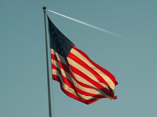 Pic of the day - Flag in Dawn's Early Light