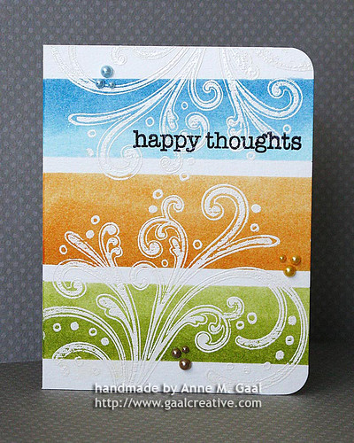 One-Layer Happy Thoughts (front) | by prospurring (Anne)