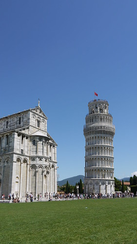how to get from pisa airport to leaning tower