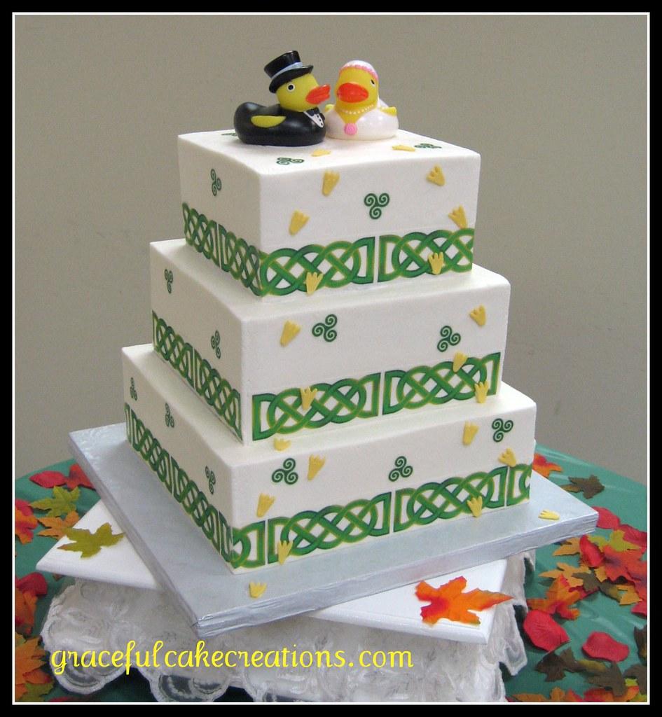Irish Wedding Cake Designs