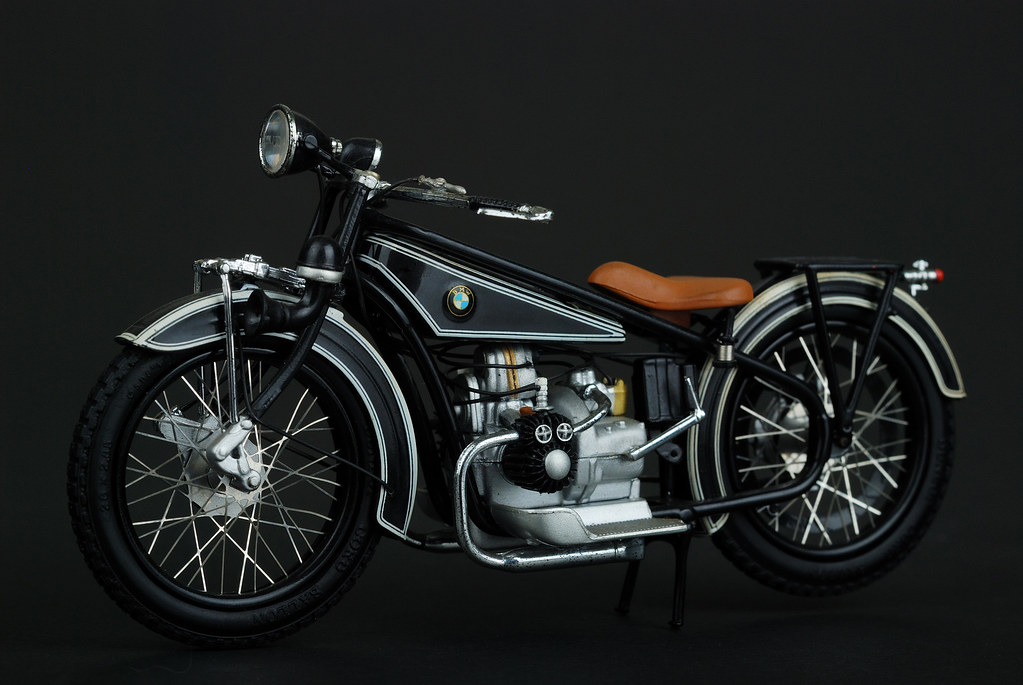 Bmw R32 1 18 Model Bmw S Motorcycle History Began In