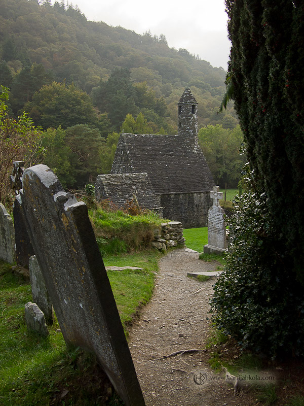 Ireland - Glendalough (St. Kevin's Church II ...