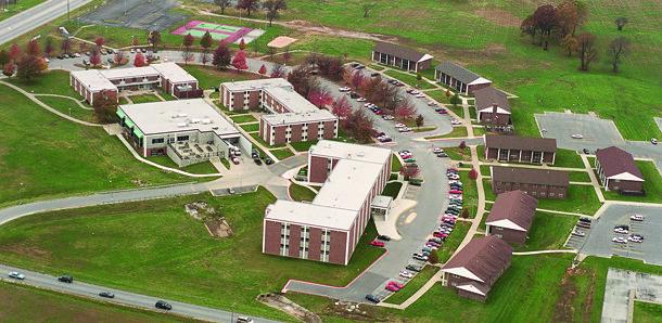 MSSU aerial dorms | MSSU aerial dorms | Missouri Southern | Flickr
