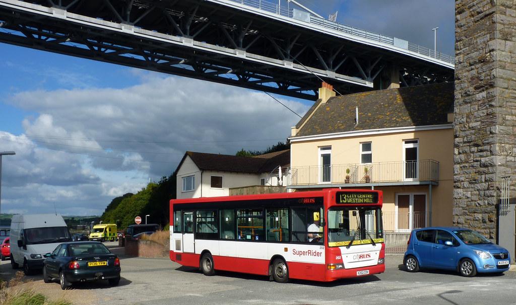 Plymouth Citybus 202 X202CDV