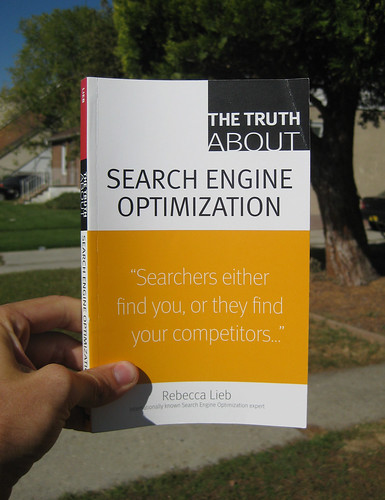 The Truth About Search Engine Optimization (Rebecca Lieb) - Blogging Bookshelf | by The Booklight
