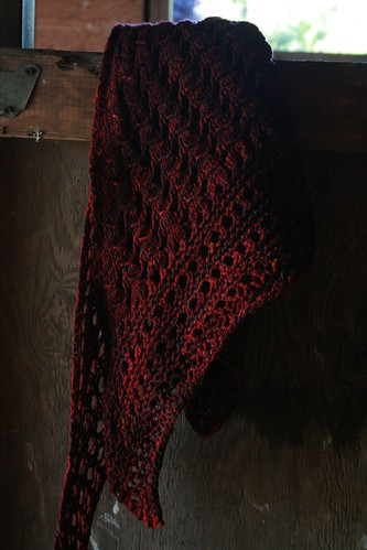 Fall Fields Shawl | by Preita
