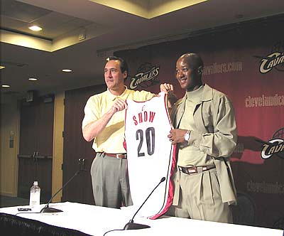 Eric Snow Signs | by Cavs History