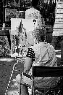 Artist in Jackson Square | by vxla