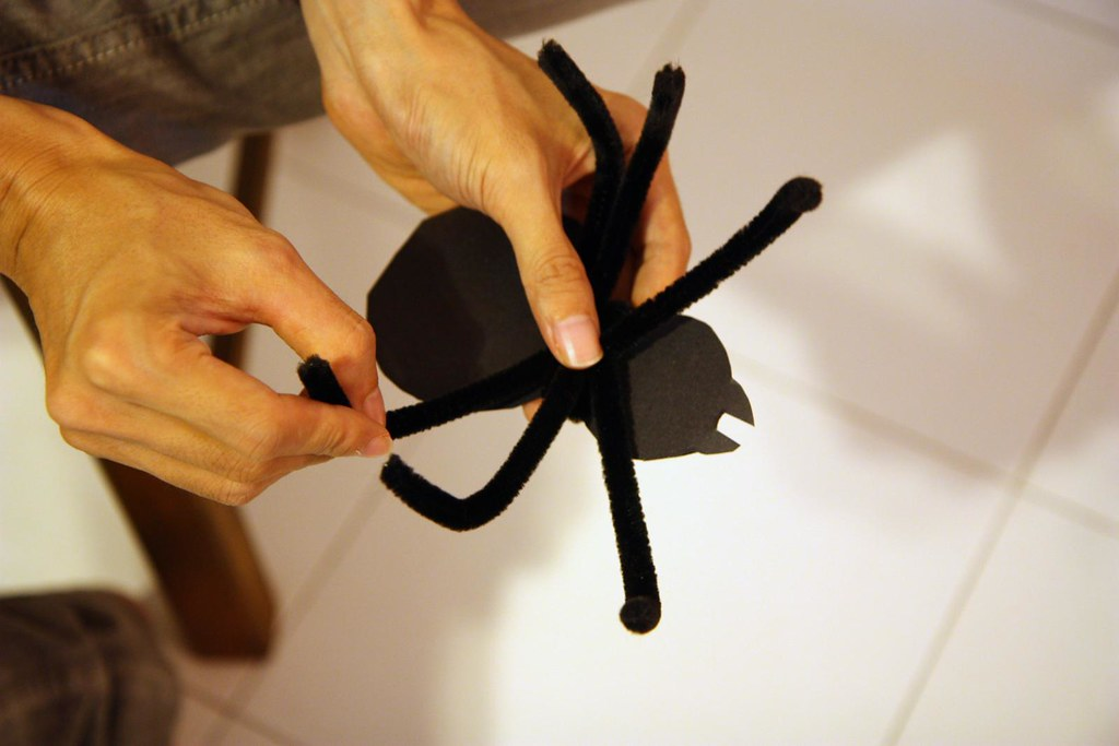 The Making Of Paper Spider Journal Entry Thalia Kamarga Flickr