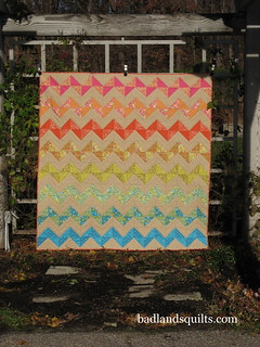 ORB Zig Zag Quilt | by badlandsquilts