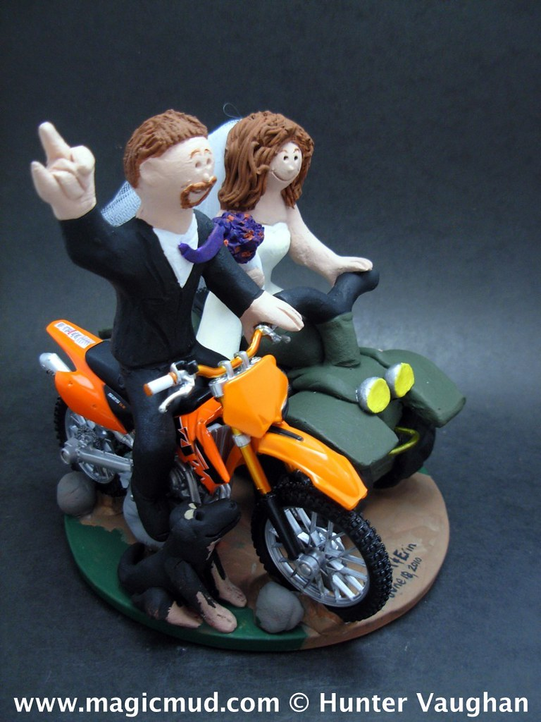 ATV and Dirt Bike Wedding Cake Topper 2 | ATV and Dirt Bike … | Flickr