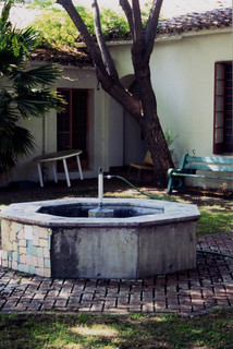 Remodeling of Belltower Courtyard fountain | by California State University Channel Islands