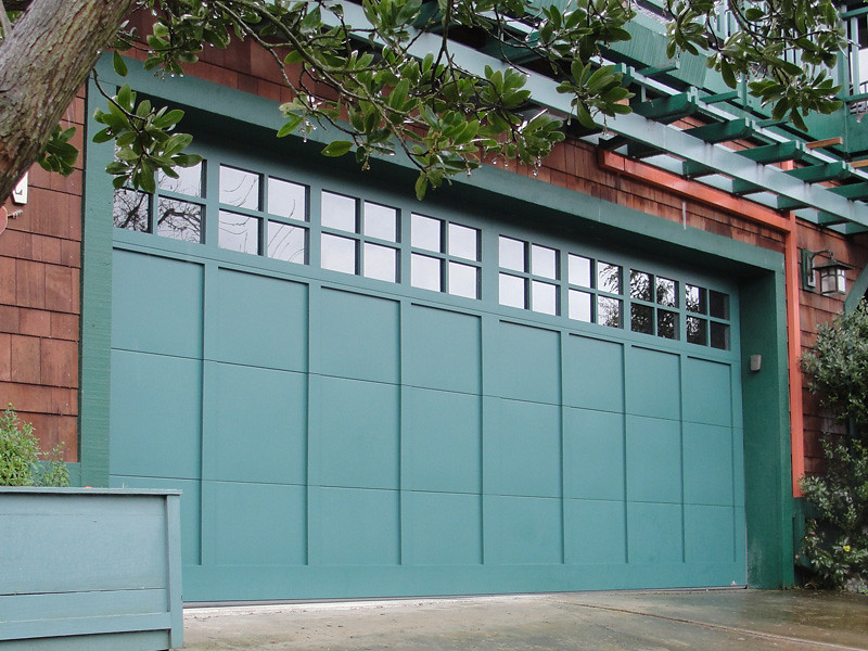 Garage Doors Carriage House Patina Green Carriage House