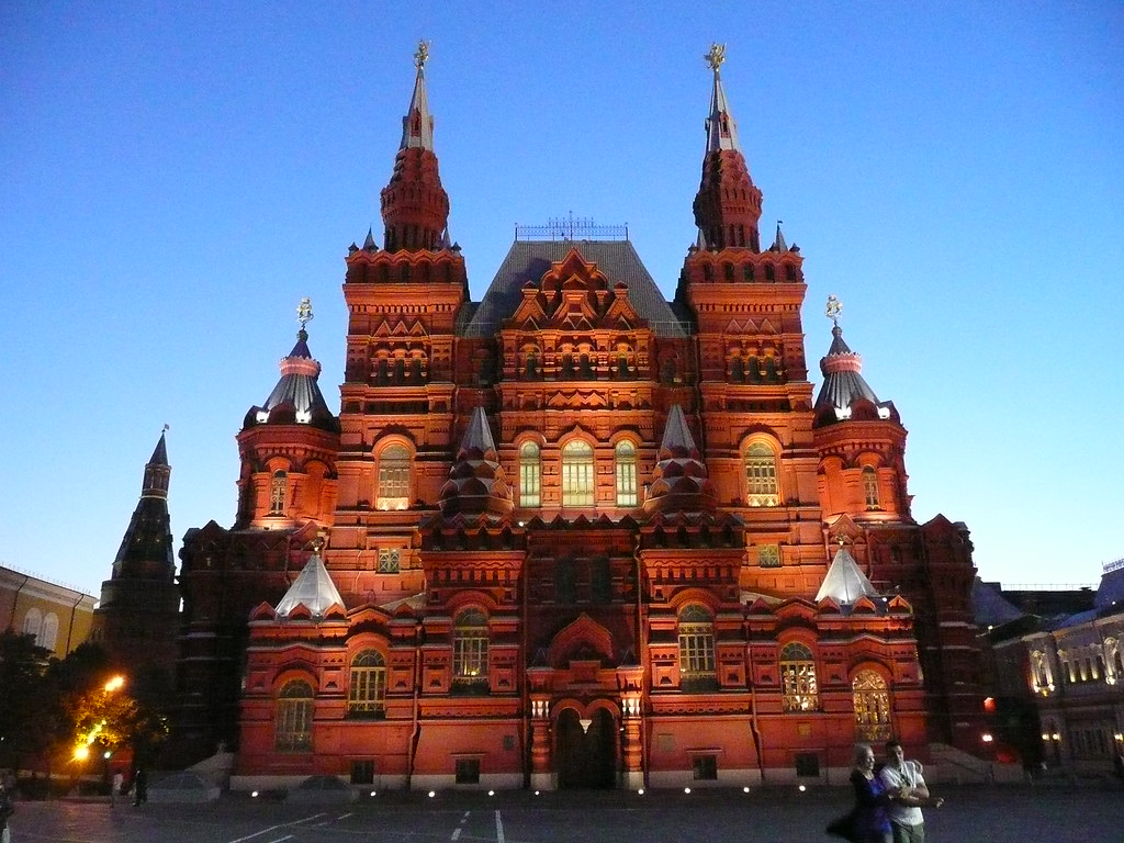 Moscow Tours In English