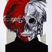 POP NEVER DIE   Portrait of Andy Warhol 5/15
