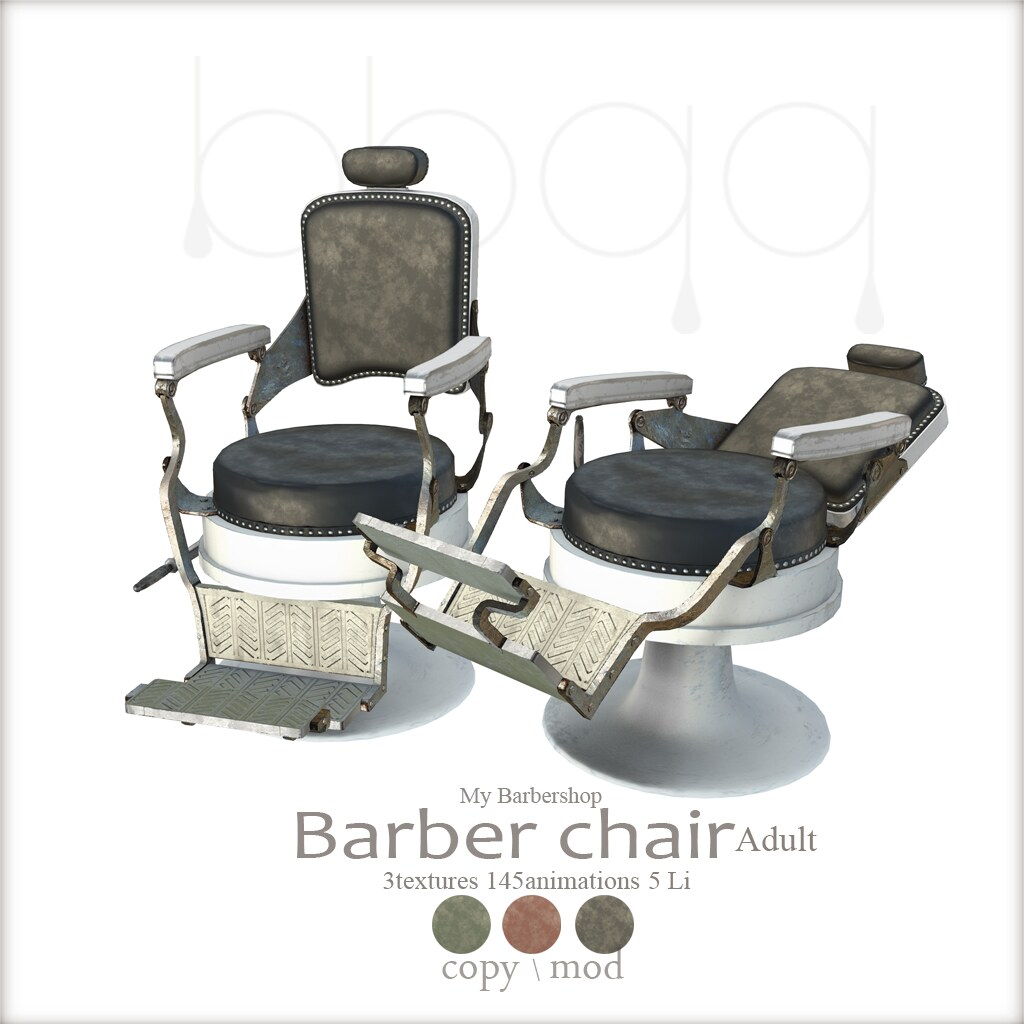... Barbershop Barber Chair 【Adult】@ The Project
