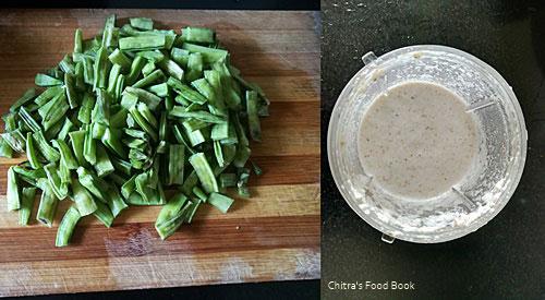 Kothavarangai kootu recipe