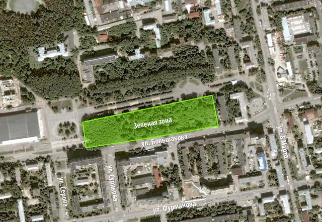 Парк на Большакова