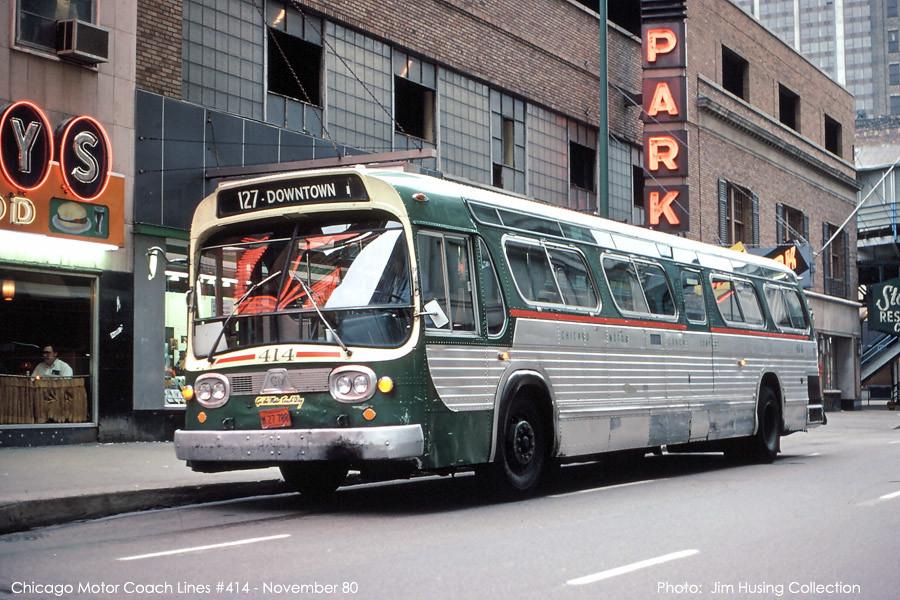 Chicago Motor Coach Company Early 1960 39 S Era Gmc Fishbowl