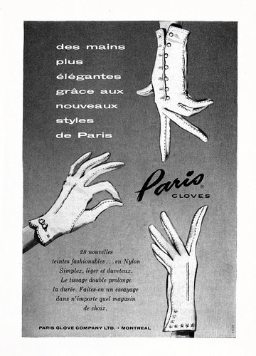 Paris Gloves (1958) | by Denis Goulet