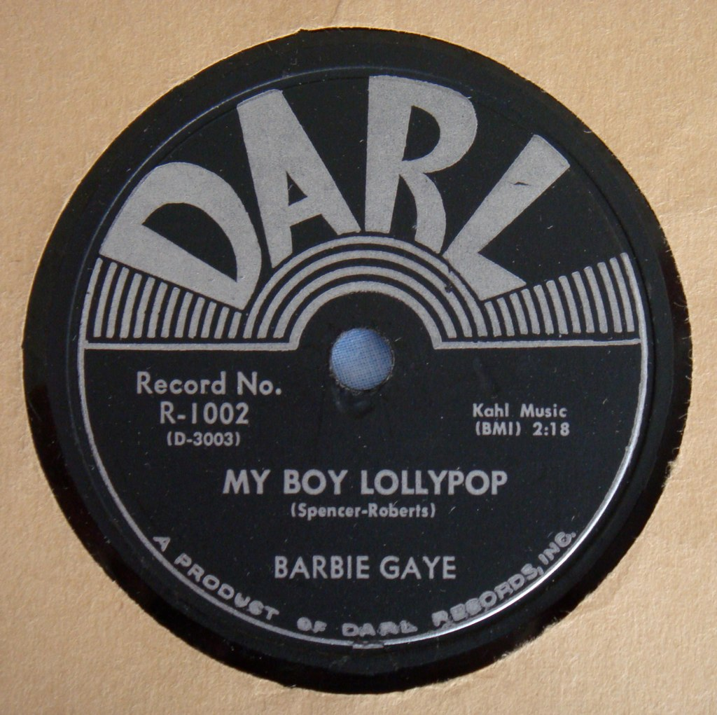 Barbie Gaye My Boy Lollipop Darl 78 Www Youtube Com