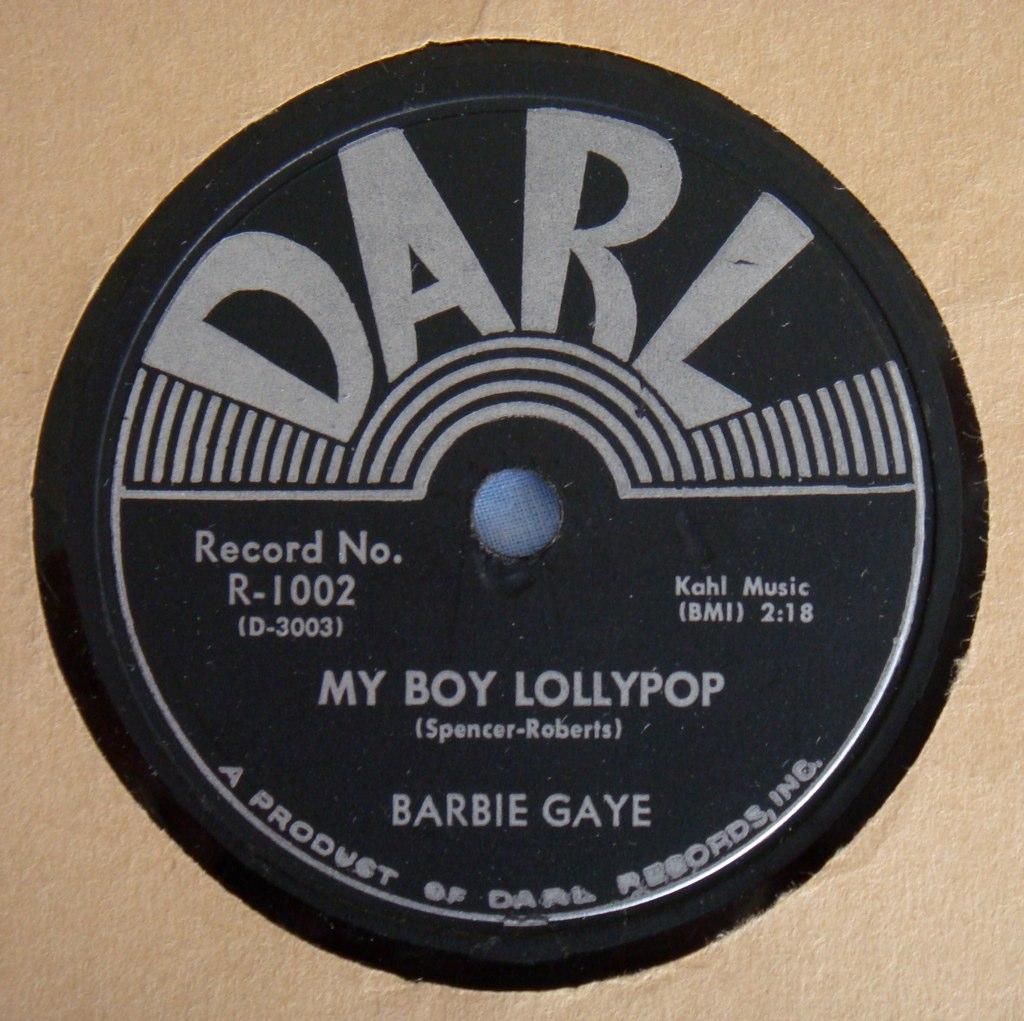 Barbie Gaye My Boy Lollipop Darl 78 Www Youtube Com