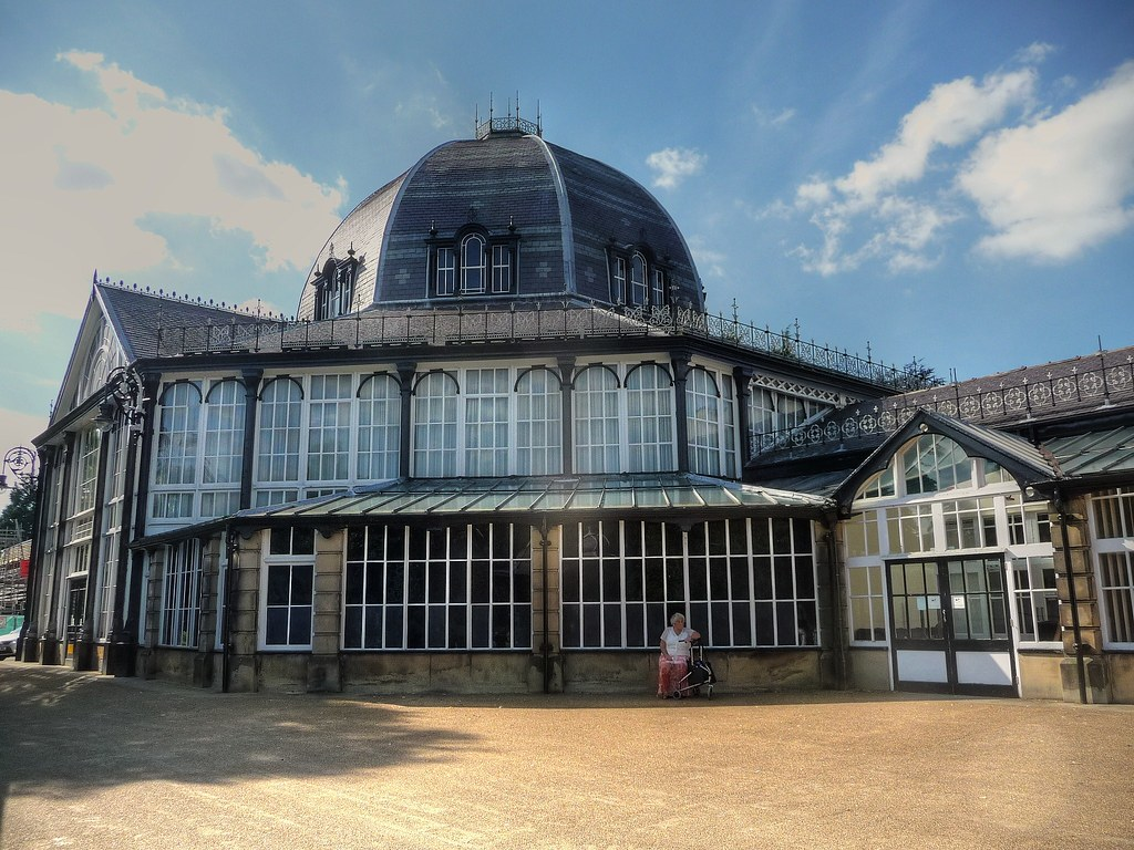 Octagon Building The Pavilion Buxton Derbyshire The