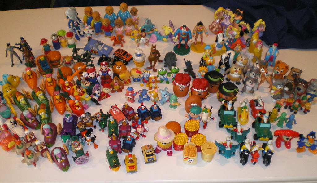 80s Happy Meal Toys : Old mcdonalds toys this is my sister s and
