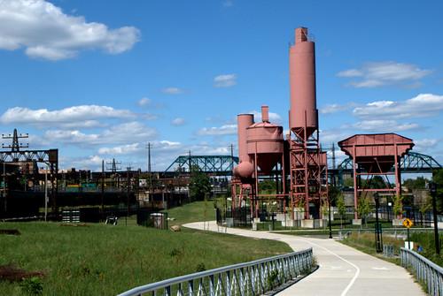 New York Cement Plants : Concrete plant park landscape photo by rocco s cetera