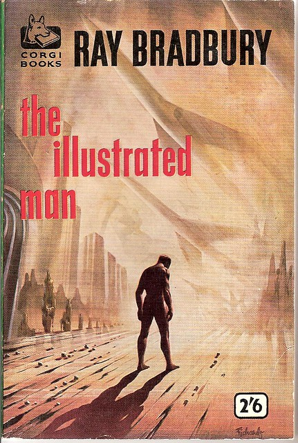 Illustrated Book Cover Version ~ The illustrated man corgi book cover flickr photo